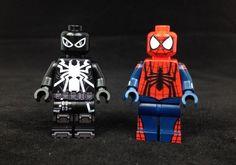 Onlinesailin Spider-Man Custom Minifigures
