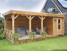 Backyard Pavilion, Backyard Gazebo, Garden Gazebo, Backyard Patio Designs, Pergola Patio, Backyard Landscaping, Backyard Cabana, Backyard Ideas, Garden Ideas