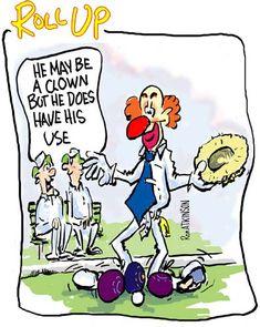 lawn bowls – Page 7 – Ako's Cartoons Clowning Around, Bowling, Quotations, Lawn, Words, Knots, Cartoons, Cartoon, Cartoon Movies