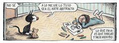 Arte Abstracto (Enriqueta y Fellini)
