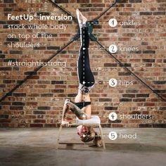FeetUp® the Inversions Trainer for Yoga, Fitness and Relaxation Personal Trainer App, Personal Training Logo, Yoga Inversions, Yoga Handstand, Best Cardio Workout, Fun Workouts, Yoga Trainer, Yoga Philosophy, Yoga Fitness