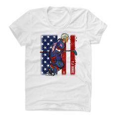 T.J. Oshie Sketch Flag B Washington Officially Licensed NHLPA Womens Scoop Neck T-Shirt S-XL