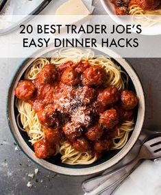 20 BEST Trader Joe's easy #dinner hacks and simple recipes
