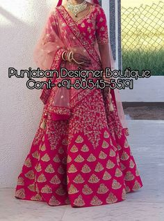 Buy Lehenga Choli for women and girls in various colours & patterns Online in India. 👉 CALL US : + 91 - or Whatsapp Designer Lehenga Work : Handwork COLOURS Available In All Colours Fine quality fabric Indian Evening Gown, Wedding Evening Gown, Indian Gowns, Wedding Lehenga Designs, Lehenga Wedding, Designer Evening Gowns, Designer Gowns, South Indian Bride, Indian Bridal