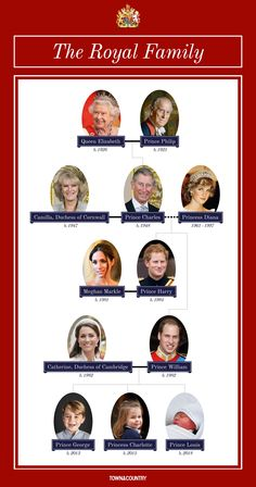 British Royal Family Tree - Guide to Queen Elizabeth II . Windsor Family Tree, British Royal Family Tree, Royal Family History, Royal Family Trees, Queen Elizabeth Family Tree, Queen Victoria Family Tree, Princess Diana Family, Princess Kate, Lady Diana