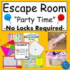 Escape Room Diy, Escape Room For Kids, Escape Room Puzzles, Kids Room, Room Escape Games, Fun Learning, Learning Activities, Activities For Kids, Teaching Ideas