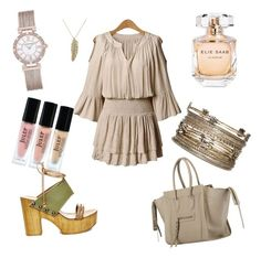 """Untitled #11"" by mariabatty on Polyvore featuring Julep, Bar III, Elie Saab, Steve Madden, Anne Klein and Decree"