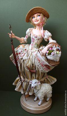 Коллекционные куклы ручной работы. Ярмарка Мастеров - ручная работа Пастораль. Handmade.