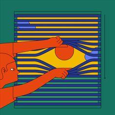 L'artiste chilien a le don de transformer ce qui semble normal en une oeuvre d'art.