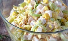 pl:: Przepisy kulinarne w jednym miejscu. Top Recipes, Salad Recipes, Cooking Recipes, Healthy Recipes, Czech Recipes, Good Food, Yummy Food, Cold Meals, Yummy Appetizers