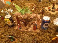 Fotografía participante en el concurso 'Ya es Navidad en Mondariz' realizado en el perfil de Facebook de Aguas de Mondariz.  Autoría: Aurora Aida Goas Castro