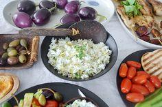 Coconut Jasmine Rice with Cilantro and Lemon