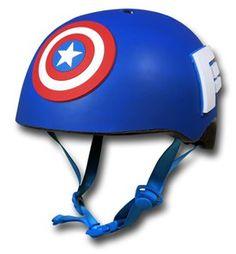 Captain America Kids Bike Helmet