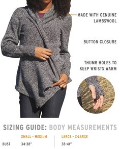 Black Sheep Wrap Sweater