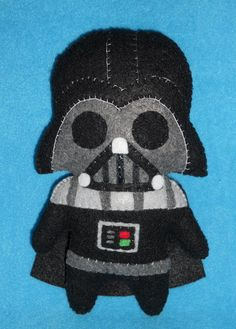 A SUPER CUTE DARTH VADER! AWWW Darth Vader Plush   by ~misscoffee