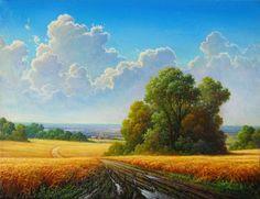 Alexandr Sultan  45 x 60 cm. oil on canvas 2016