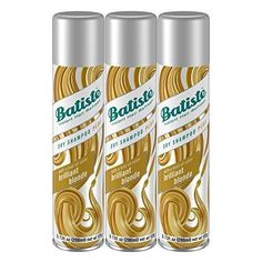 Batiste Dry Shampoo Brilliant Blonde 3 Count (Packaging May Vary)