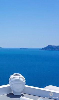 Santorini views, blue and white