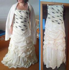 ♥ Verkaufe Brautkleid mit Kopfschmuck und Reifrock ♥  Ansehen: https://www.brautboerse.de/brautkleid-verkaufen/verkaufe-brautkleid-mit-kopfschmuck-und-reifrock/   #Brautkleider #Hochzeit #Wedding