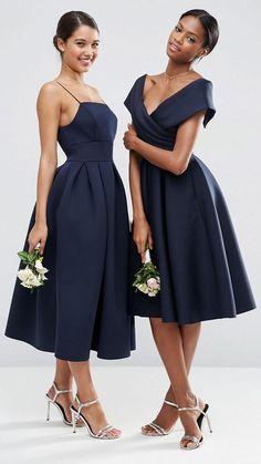 Off the shoulder bridesmaid dress