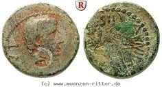 RITTER Phönizien, Berytus, Augustus, Legionsadler, Gegenstempel #coins
