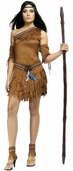 Pocahontas Kostüm - Karnevalskostüme für Damen