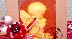 «Янтарный ангел» - мыло с пожеланием в упаковке Angel, Angels