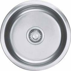 Rotondo Round Single Bowl Inset/Undermount Sink 380 x Stainless Steel Laundry Appliances, Bowl Sink, Sink In, Undermount Sink, Stainless Steel, Utility Sink