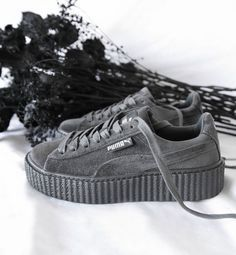 64cbdb8a365f9d Кроссовки Puma x Rihanna Fenty Suede Creeper Velvet