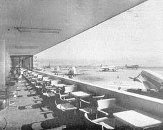 Mirante e Bar no 2º andar - anos 1937