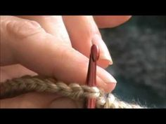 Invisible join for double & Half double crochet in round. by maura