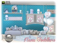 The Sims 4 najlepsze mody do gry: Zestaw deko Nana od Jomsims Sims 4 Bedroom, The Sims, Baby Kids, Toddler Bed, Toddlers, Collection, House, Home Decor, Child Bed