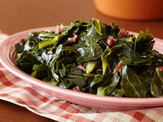 Collard Greens, I'll be skipping the meat, using chicken stock and adding a citrus (lemon/lime) to brighten
