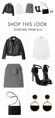 """""""Untitled #4192"""" by memoiree ❤ liked on Polyvore featuring Acne Studios, Miss Selfridge and Warehouse"""
