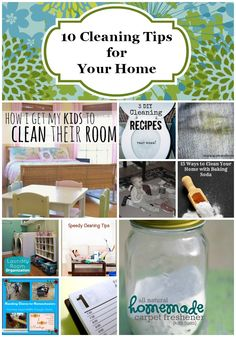 10 Cleaning Tips for the Home