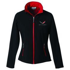 C7 Corvette Stingray Matrix Jacket Men or Women Ladies Red and Black | eBay - I need this!!!!!!!!!!!!!