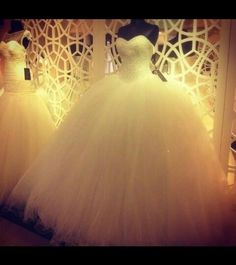 My ultimate dream wedding dress princess white tulle ball gown flared out cinderella style