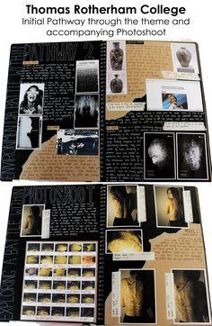 A Level Art Sketchbook Layout, Gcse Art Sketchbook, A Level Textiles Sketchbook, Kreative Mindmap, Artist Research Page, Kunst Portfolio, A Level Photography, Photography Basics, Photography Awards