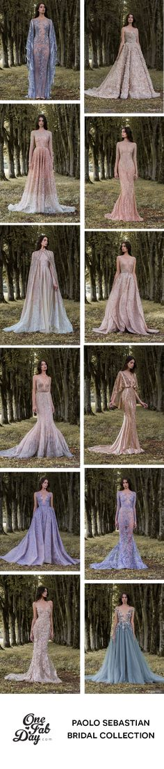 A sensational wedding dress collection inspired by the other worldly beauty of wings. Winter Collection, Bridal Collection, Dress Collection, Paolo Sebastian Wedding Dress, Boho Gown, Bridal Jumpsuit, Wedding Inspiration, Wedding Ideas, Looking Gorgeous