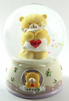 Led Bear Holding Pillow LOVE YOU Snow Globe Ball Water Figurine Ornament My-1710 Accessory http://www.amazon.com/dp/B00CYP6VVG/ref=cm_sw_r_pi_dp_i1fKtb0J2PZD4XS8