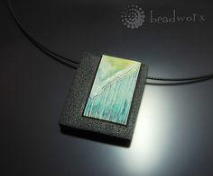 Necklace (liquid clay) - Bettina Welker