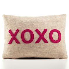 XOXO Pillow.