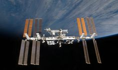 ISS, the International Space Station, the place outside the Earth, were scientist make a lot of experiements in different fields of knowledge.