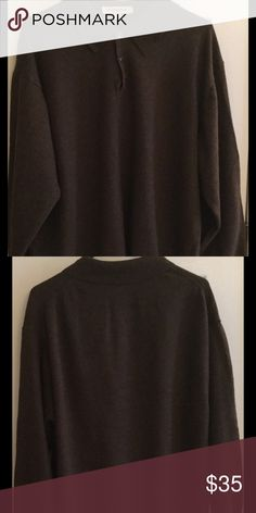 Pronto Uomo Men's Merino Wool Sweater Size 2X warm and cozy 100% merino wool sweater is a great addition to any man's wardrobe. EUC. Pronto Uomo Sweaters