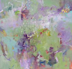 """Gator Pond."" An original oil mixed media painting by Charleston artist, Madeline Dukes."