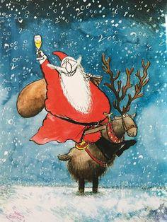 Ronald Searle Christmas