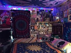 aesthetic, colorful, decor, grunge, hipster, indie, room, trippy ...