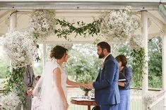 Dee and David's real life #wedding at Lemore Manor - My Love Story | CHWV