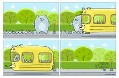The Bear Bus by sebreg