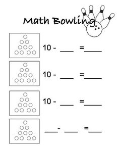 Free Printable Bowling Score Card  Fun For Kids